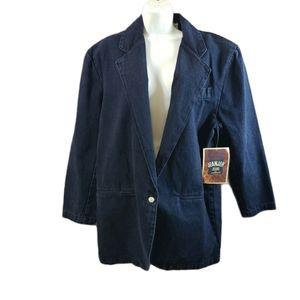 Vintage Jeanjer Jeans By Jordache Denim Jacket NWT